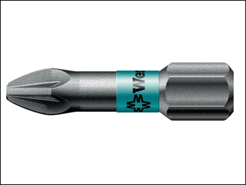 PZ2 Screwdriver Bits - Extra Tough Insert 10 pack (WERA)