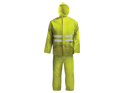 SCAN Hi-Vis Rain Suit Yellow L, XL
