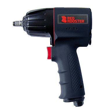 Red Rooster Pneumatic Impact Wrench Pistol Grip 3/8