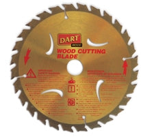Wood Cutting Circular Saw Blade 190mm X 30B X 28T - DART