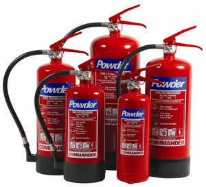 Dry Powder Fire Extinguisher 6 Litre DPFE6 Commander