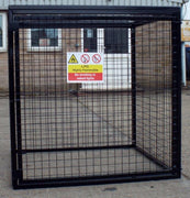 Gas Bottle Storage Cage GC25 H1200 x W1200 x D1200mm  (9 x 19kg)