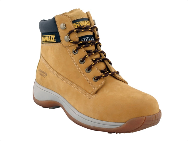 Ladies Work Boots - Dewalt Nubuck Tan Sizes 3-6