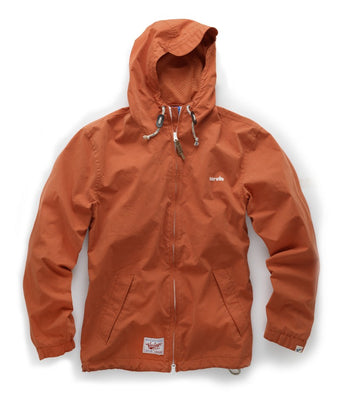 Scruffs Vintage Zip Thru Mac Jacket (Orange) - All Sizes