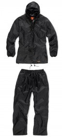 Scruffs 2pc Rainsuit (Black) - All Sizes