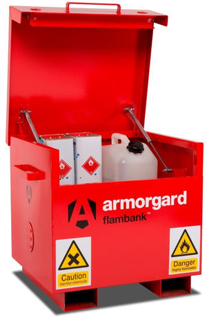 Armorgard FB21 Flambank Chemical Storage Site Box 765 x 675 x 670 mm