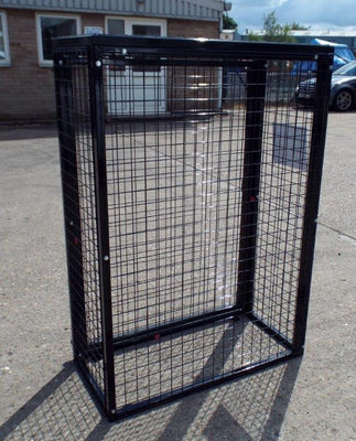 Gas Bottle Storage Cage GC10 H1300 x W1000 x D500mm (2 x 47kg)
