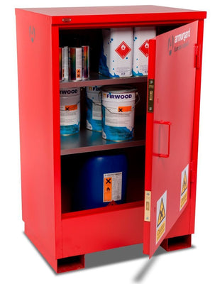 Armorgard FSC2 Flamstor Chemical & Flammable Liquid Storage Cabinet 800 x 585 x 1250 mm