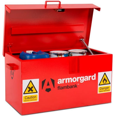 Armorgard FB1 Flambank Chemical & Flammable Liquids Storage Van Box 985 x 540 x 475 mm