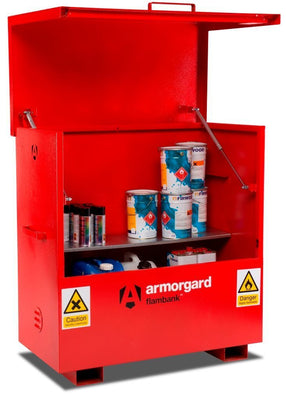 Armorgard FBC4 Flambank Chemical Storage Site Chest 1275 x 675 x 1270 mm