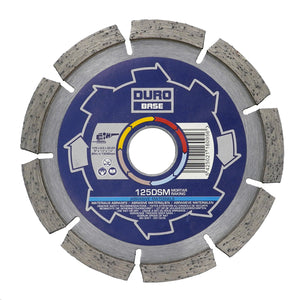 DURO Base DSM Mortar Raking Diamond Blade 115mm / 4-1/2in - Hard Materials - View Details