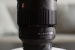 Sony FE 24-70mm f/2.8 GM with Shadow Black Camo Lens Guard