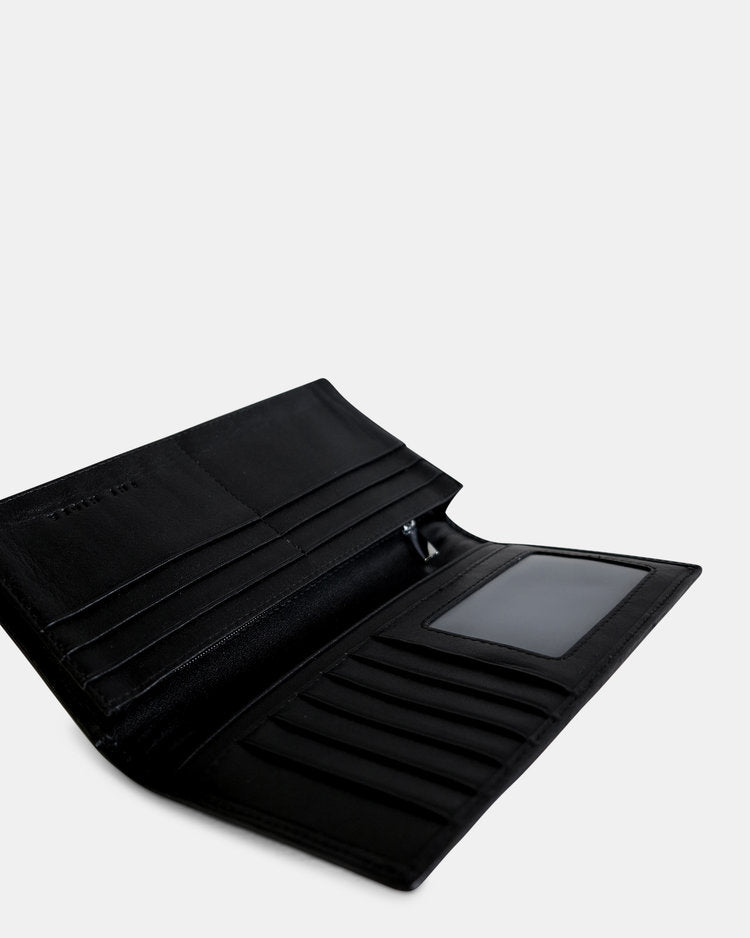 THE ANA (BIFOLD) WALLET. BLACK