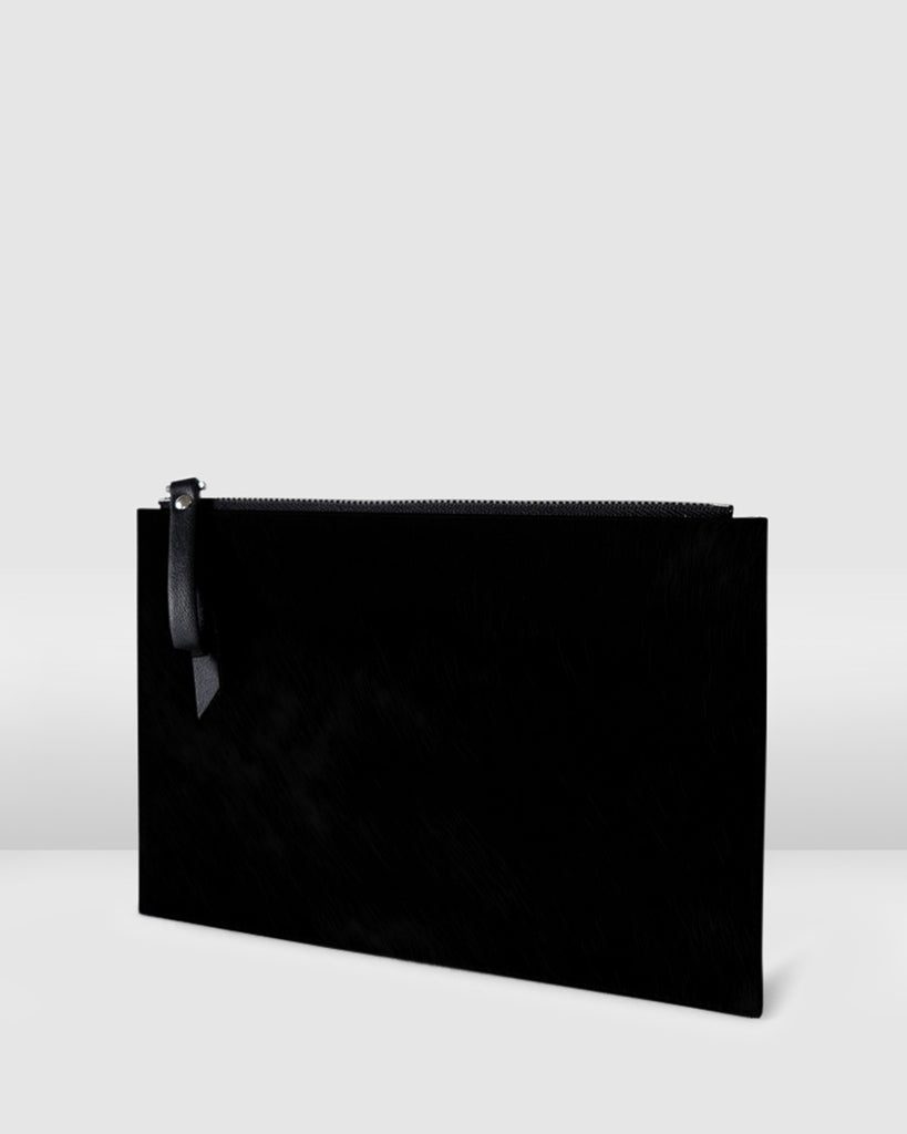 THE PLATO POUCH. BLACK