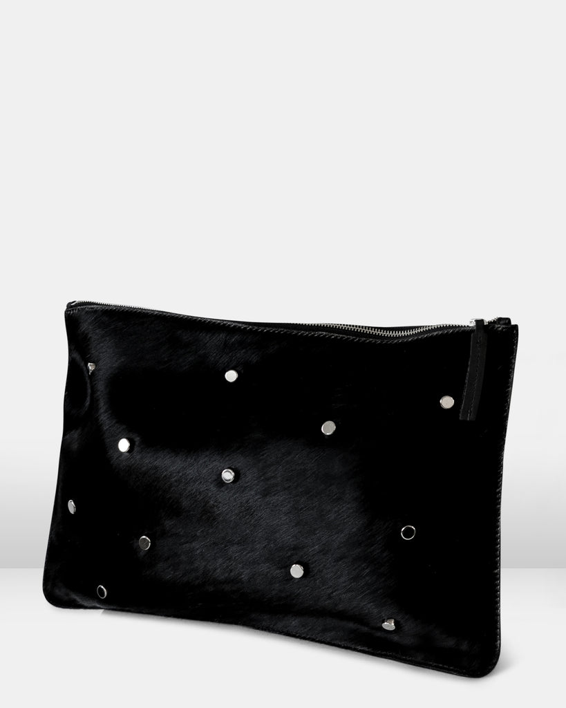 THE VIGA GRANDE PLATO POUCH. BLACK