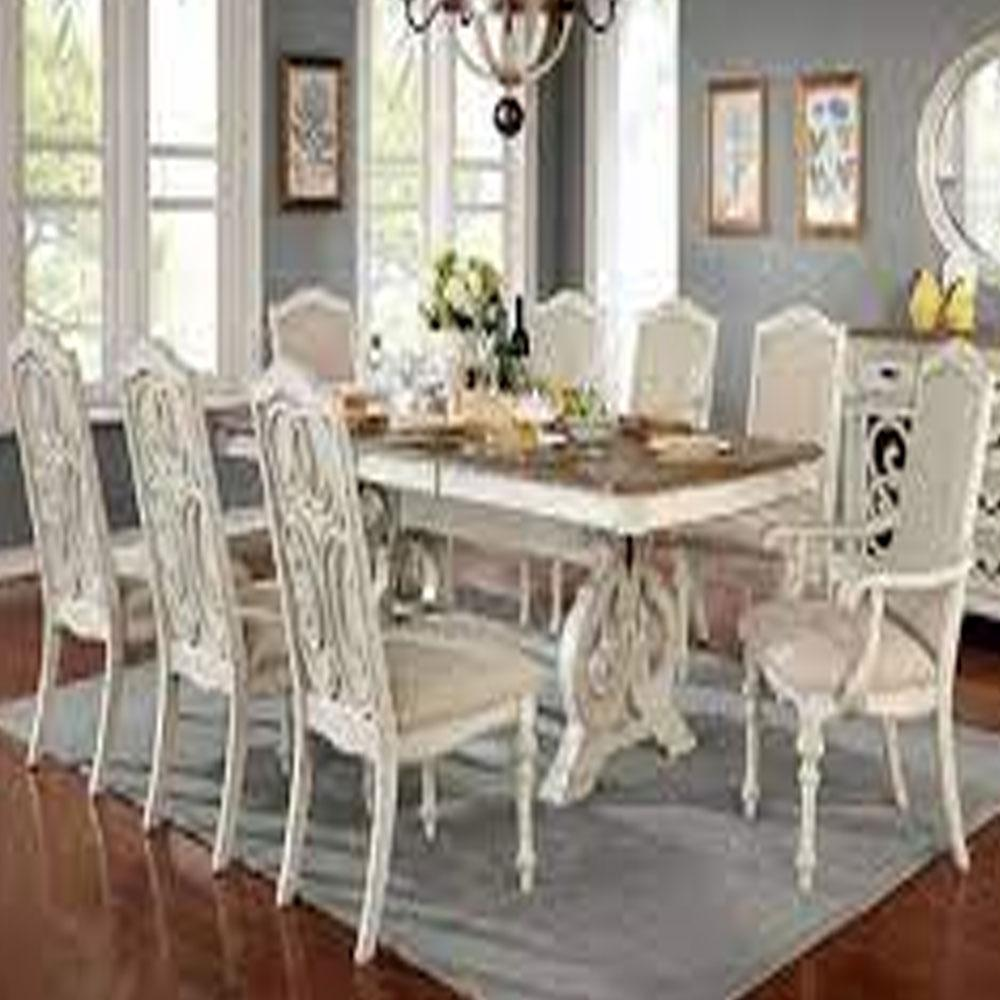 Arcadia - Rustic - Antique White - Dining Table