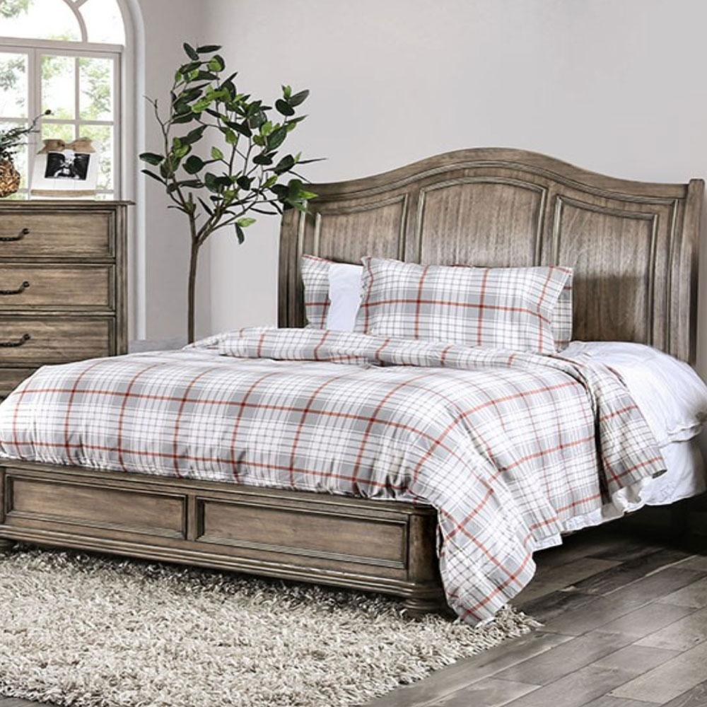 BELGRADE - Rustic - Rustic Natural - California King - Bed Frame