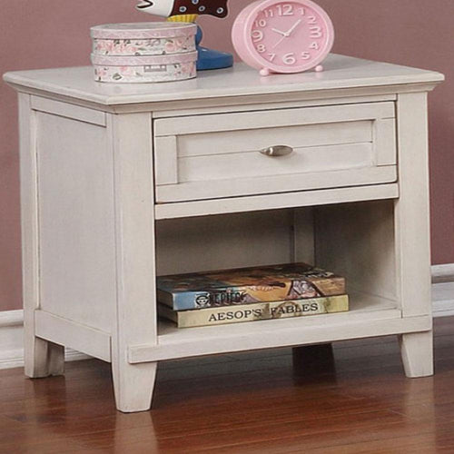 BROGAN - Traditional - Antique White - NIGHT STAND