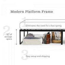 Load image into Gallery viewer, Bedder Modern Platform Twin Frame