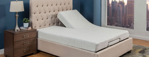 Combo Adjustable SPLIT HEAD with iFuerza Gel Mattress