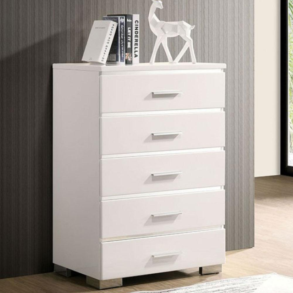 CARLIE - Contemporary - White - Chest