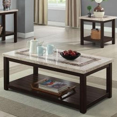 Rosetta Transitional Dark Walnut Living Room Sofa Table