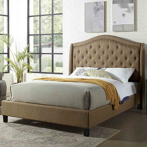 Charley - Espresso - Queen Size - Bed Frame