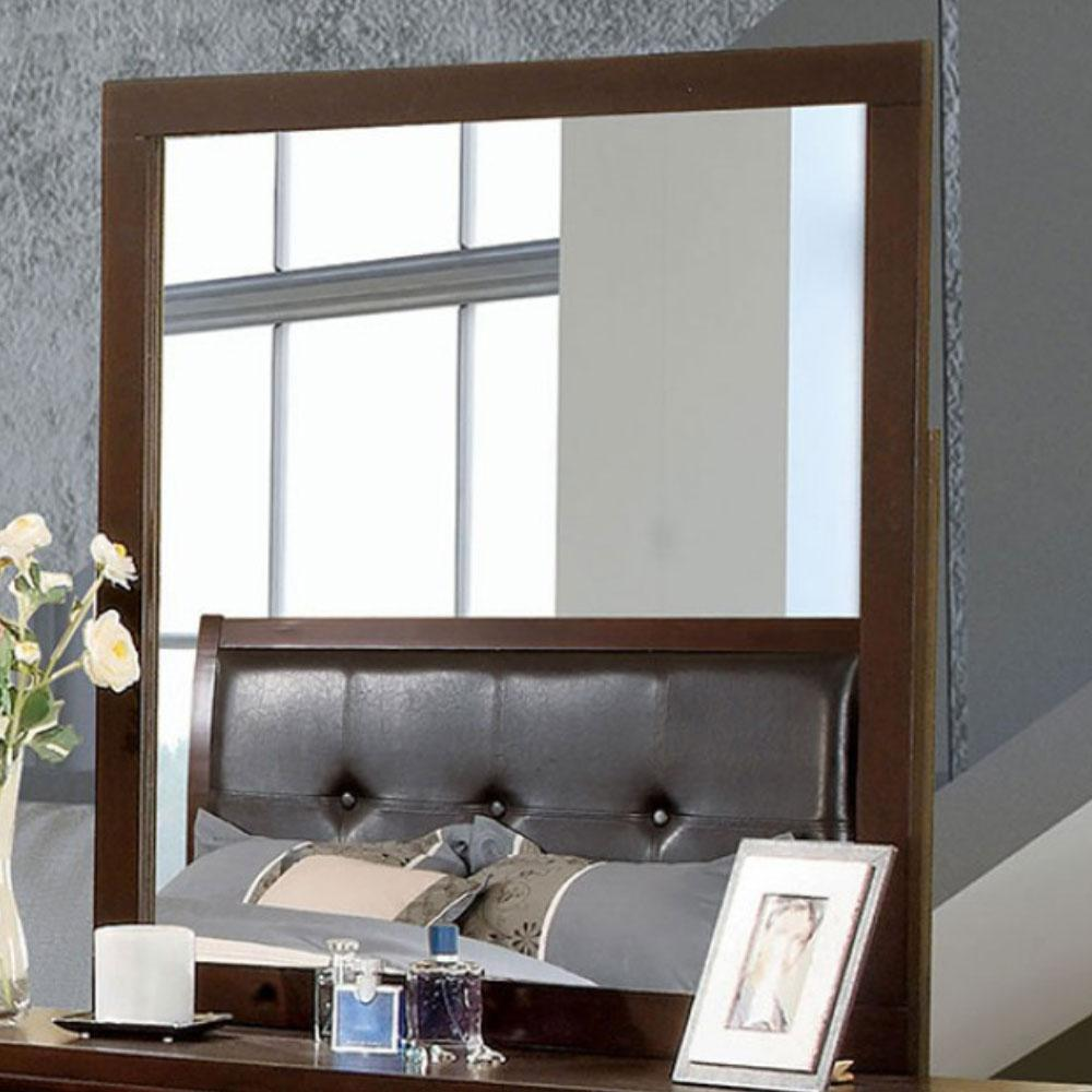 ENRICO - Contemporary - Brown Cherry - MIRROR