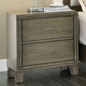 ENRICO - Contemporary - Gray - NIGHT STAND
