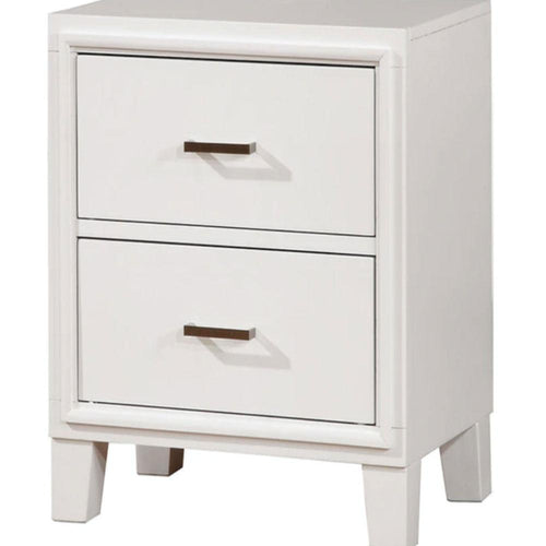ENRICO - Transitional - White - NIGHT STAND