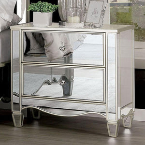 Eliora - Glam - Silver - Night Stand