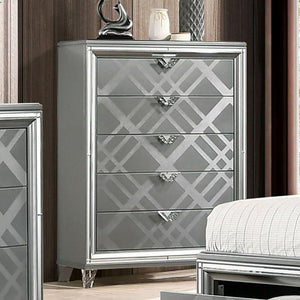 Emmeline - Contemporary - Silver - Chest
