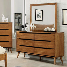 Load image into Gallery viewer, Mid-Century Fine Oak Dresser