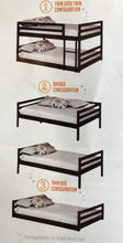 Load image into Gallery viewer, Bunks Collection Triple Twin Bunk Bed