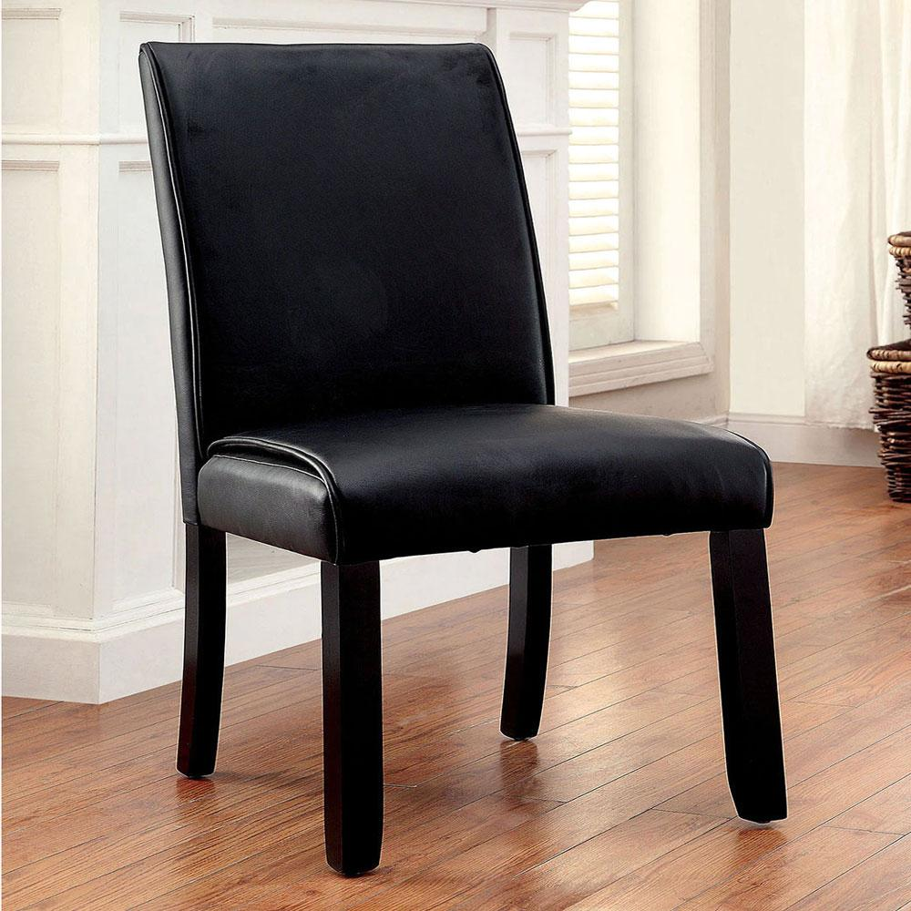 Gladstone - Transitional - Black - Dining Chair