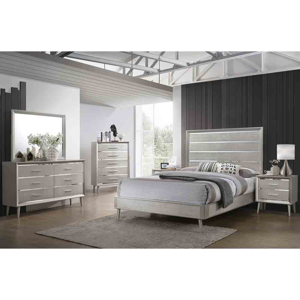 Lesley Glamour - Cal King Size - 5 Piece Set