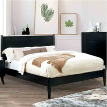 Load image into Gallery viewer, Mid-Century Elegant Black - Queen Size - Bed Frame