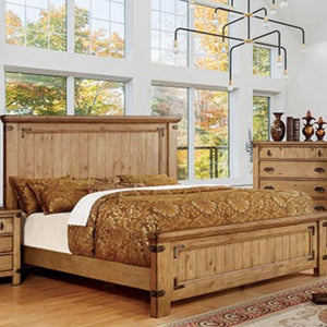 PIONEER - Cottage - Weathered Elm - California King - Bed Frame