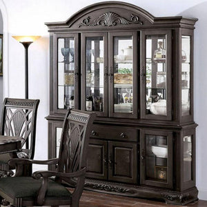 Petersburg - Traditional - Dark Gray - Hutch Buffet