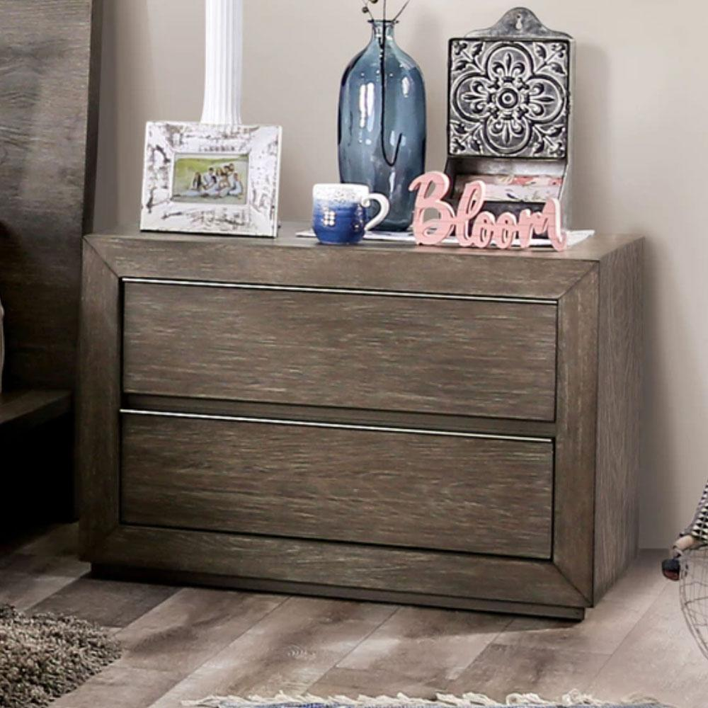 Pickstown - Transitional - Light Walnut - Night Stand