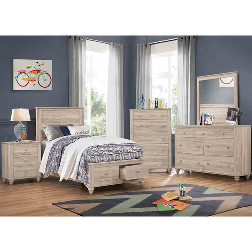Presley Storage - Queen Size - 6 Piece Set