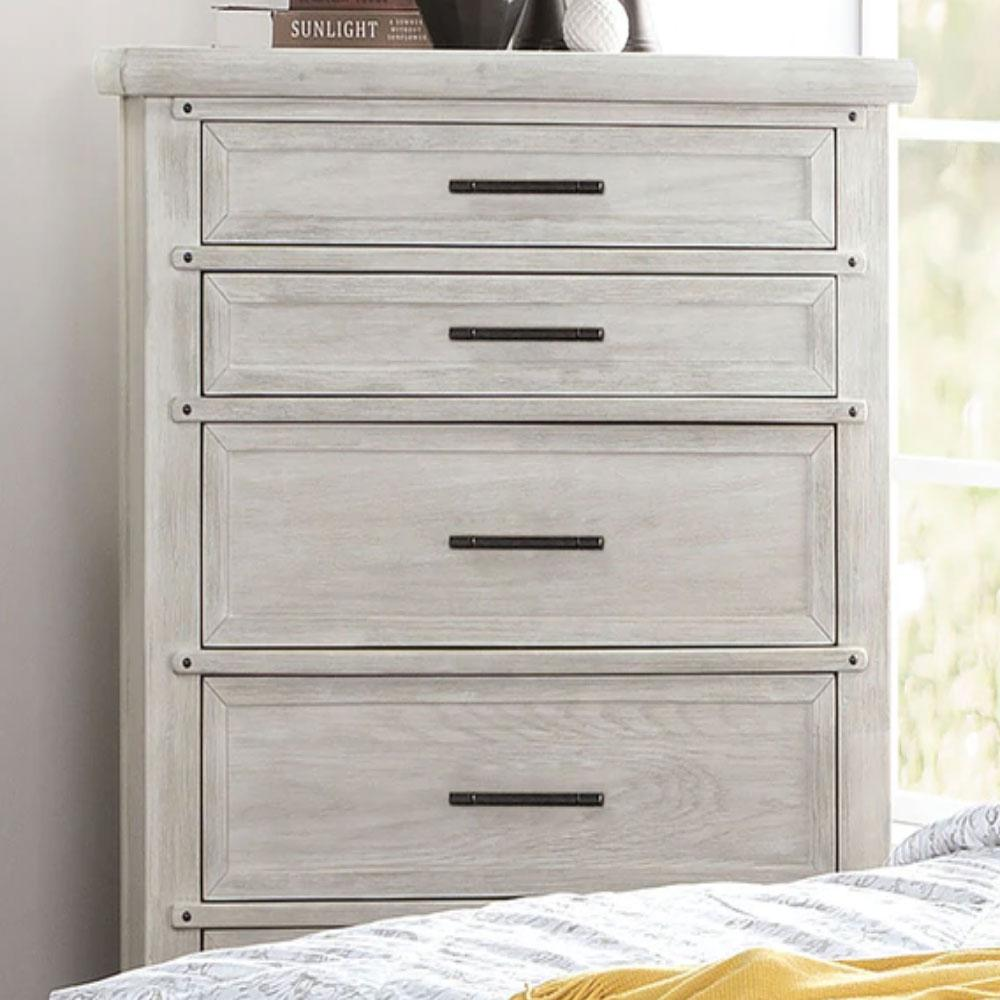 Shawnette - Transitional - Antique White - Chest