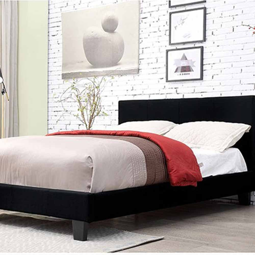 Sims - Contemporary - Black - Full - Bed Frame