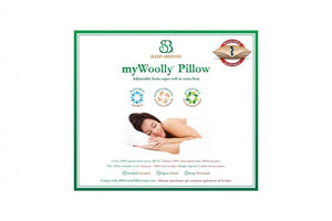 myWoolly Pillow - Hypoallergenic Wool