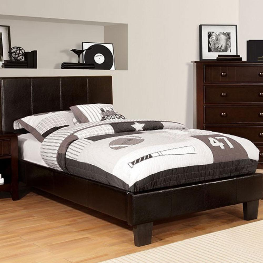 WINN PARK - Contemporary - Espresso - California King - Bed Frame