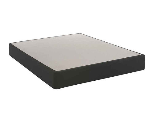 Black Flat Base - Regular Height Boxspring