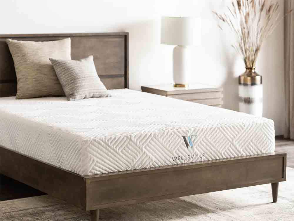 Wellsville 11 Inch Gel Foam California King Mattress