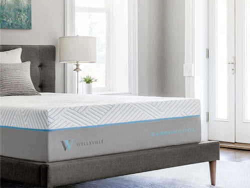 Wellsville 14 Inch CarbonCool Foam King Mattress