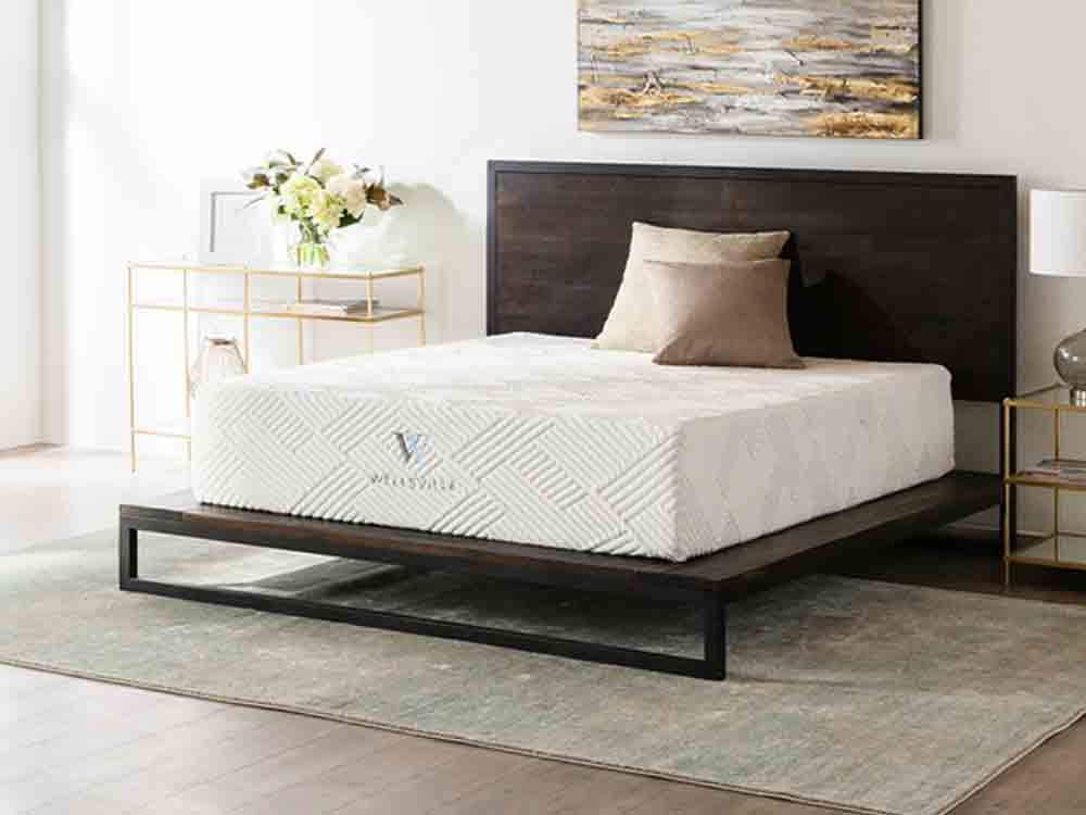 Wellsville 14 Inch Gel Foam Split Head Queen Mattress