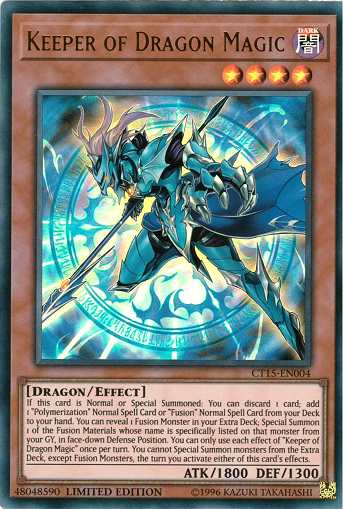 CT15-EN004 Keeper of Dragon Magic